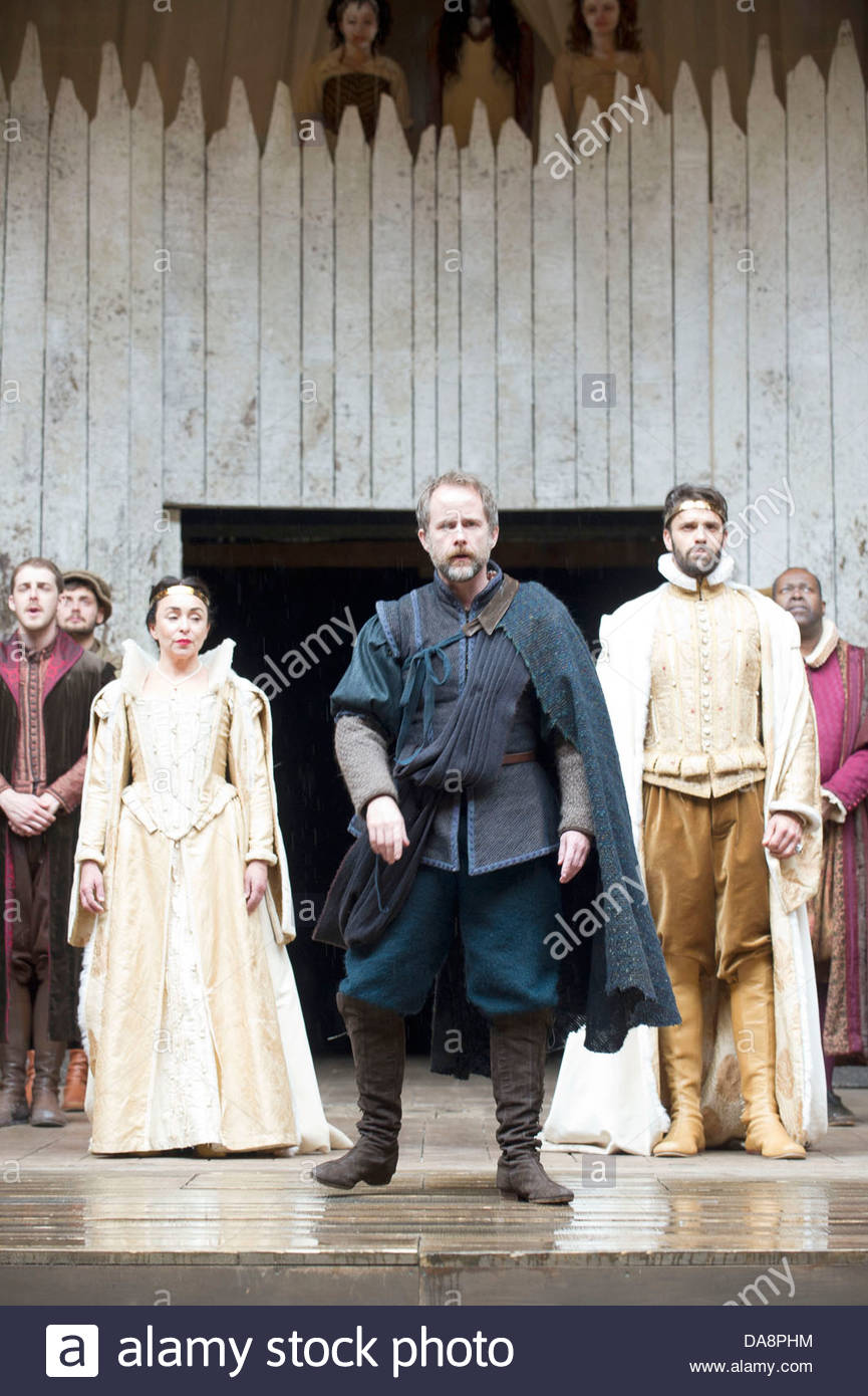 Macbeth by William Shakespeare. A Shakespeare's Globe Production directed  by Eve Best. with Samantha Spiro as Lady Macbeth, Billy Boyd as Banquo, ...