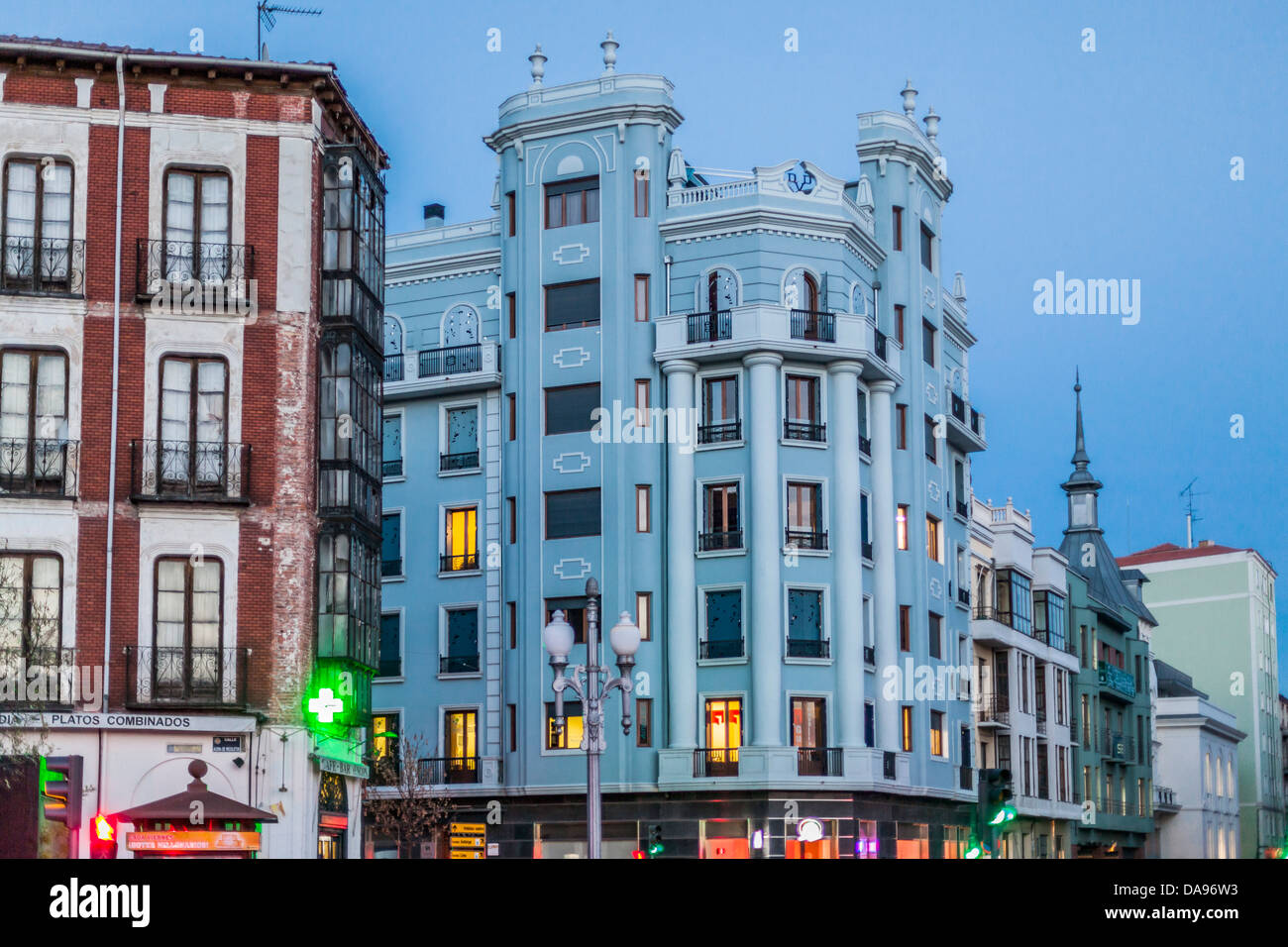 valladolid,castile and león,spain - Stock Image