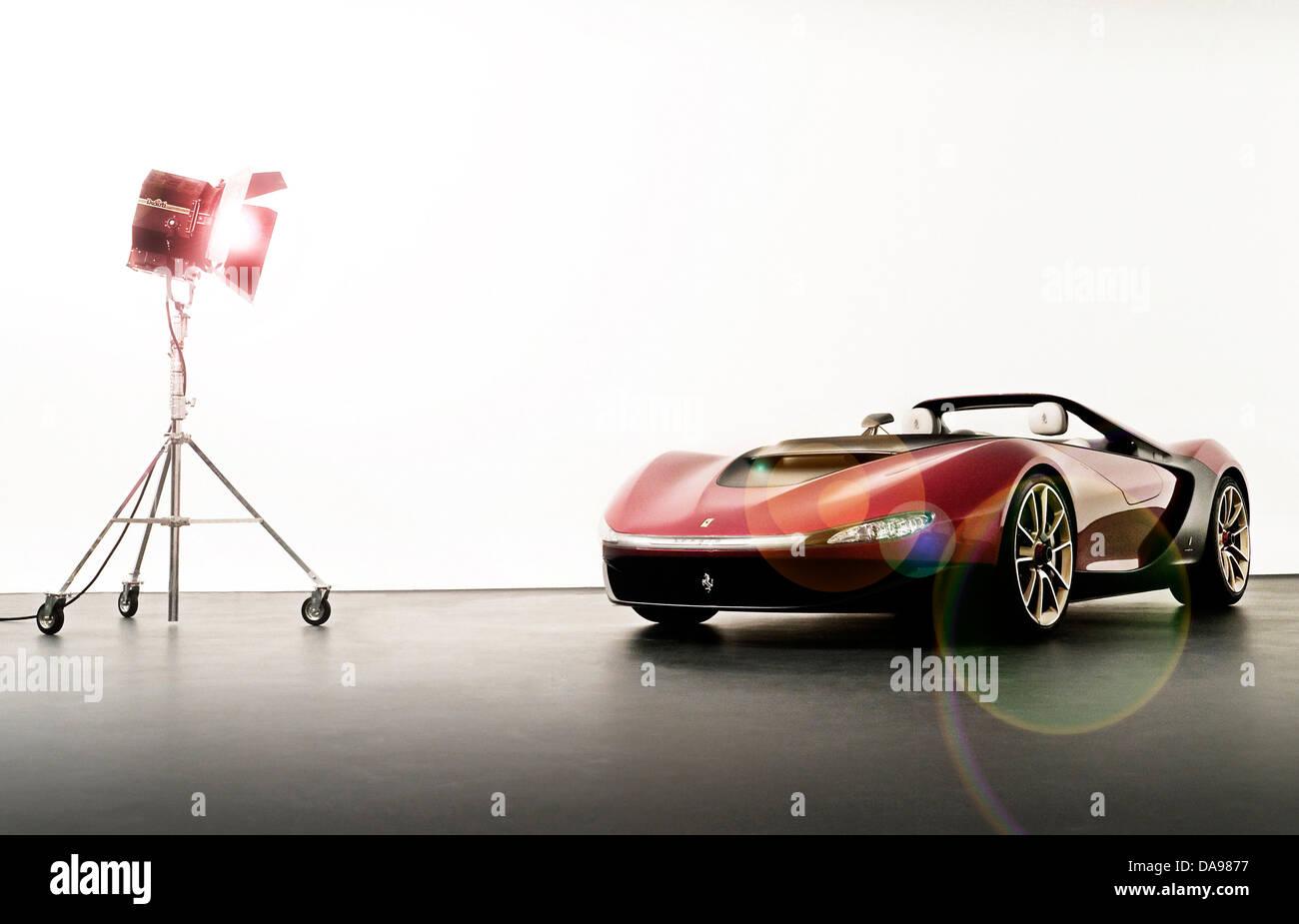 PininFarina Sergio Concept car - Stock Image