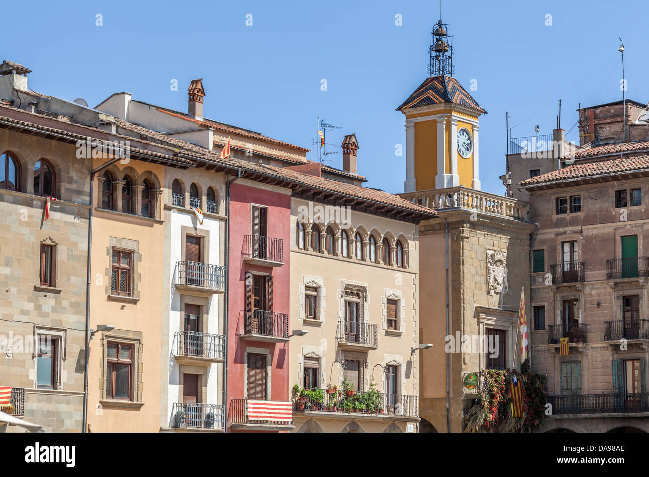vic,catalonia,spain - Stock Image