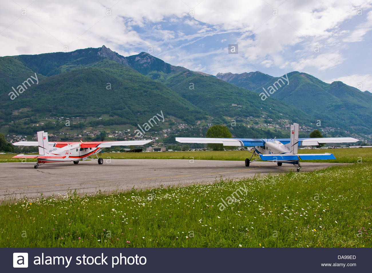 Airplanes - Stock Image