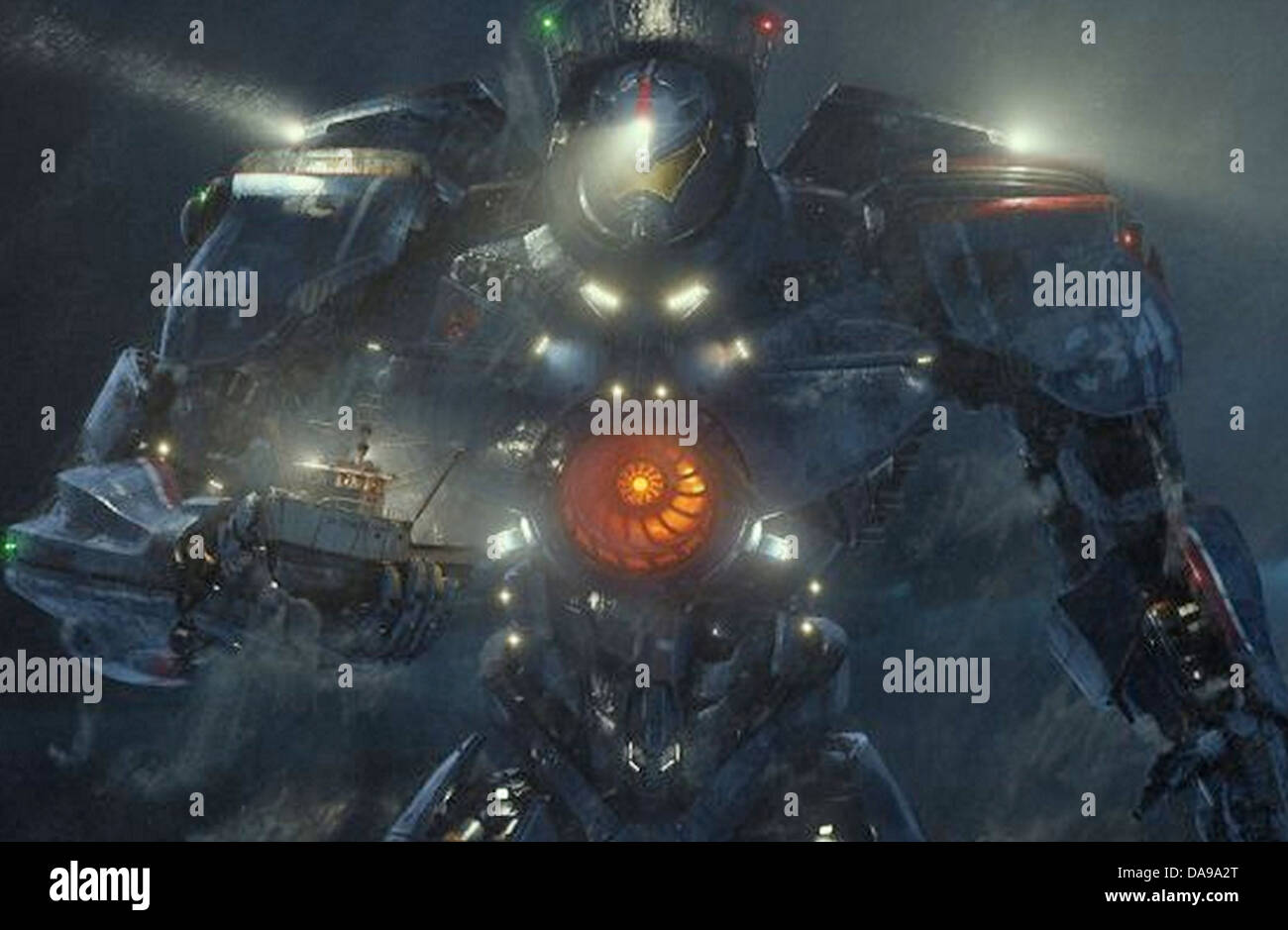 PACIFIC RIM 2013 Warner Bros film - Stock Image