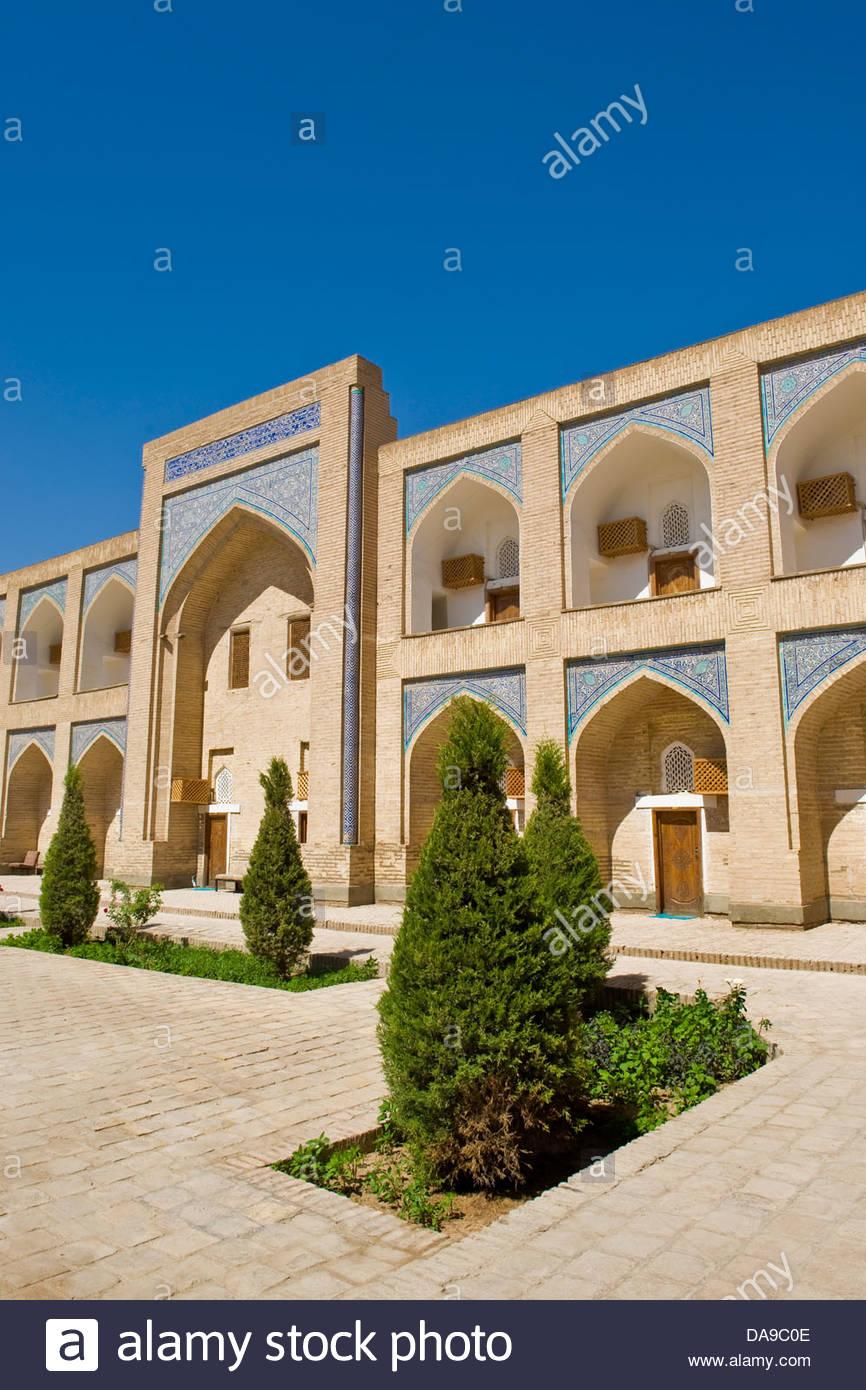 Uzbekistan,Khiva,Orient Star Khiva hotel - Stock Image