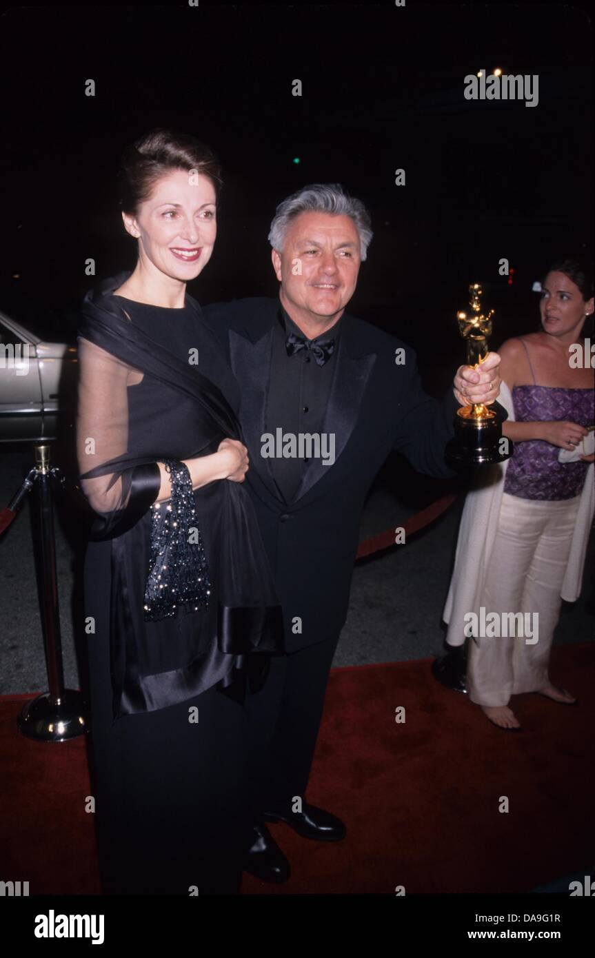 JOHN IRVING with wife.Miramax Oscar party at Beverly Hills Hotel , Ca. 2000.k18303mr.(Credit Image: © Milan - Stock Image