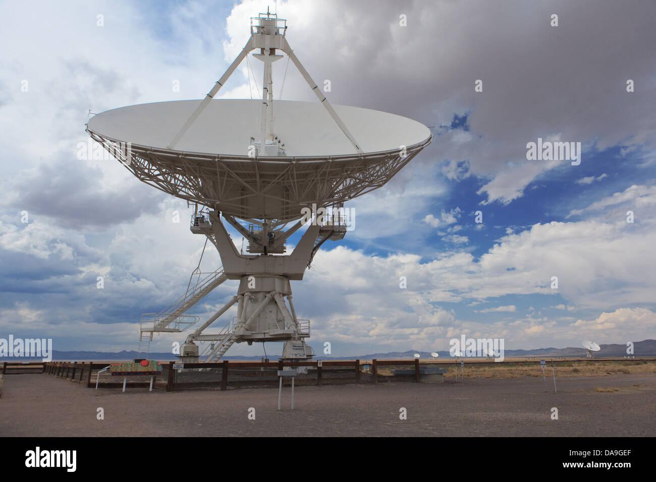Very Large Array near Socorro New Mexico Stock Photo