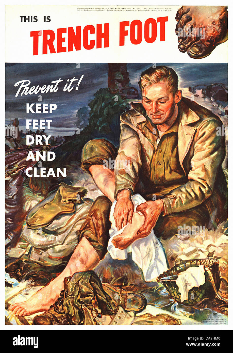 world war ii posters trench of Researching world war ii images of african americans, prologue article  with  the exception of three color posters (indicated by an asterisk  overshoes  proved their worth and helped prevent trench foot during the rains.