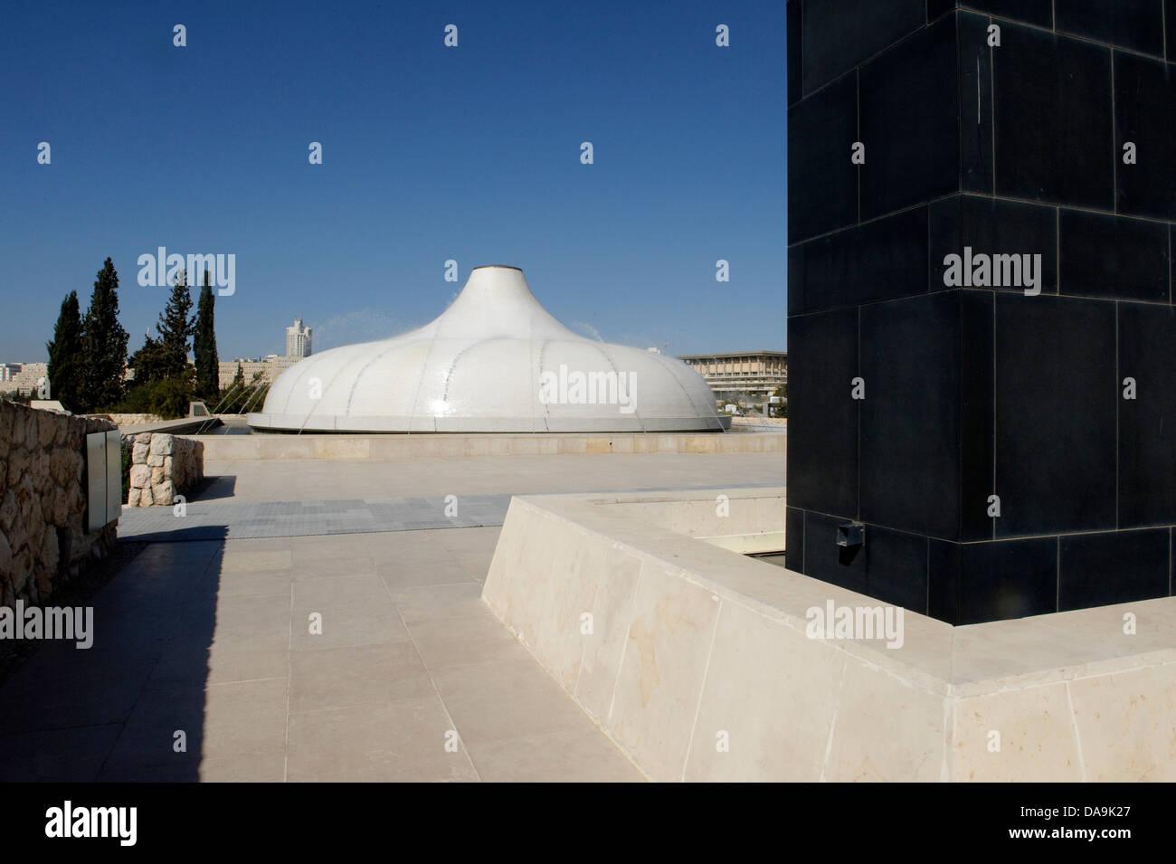 Israel, Israel museum, Jerusalem, Middle East, Near East, dead sea scrolls, rolls, shrine of the book, book, shrine, Stock Photo
