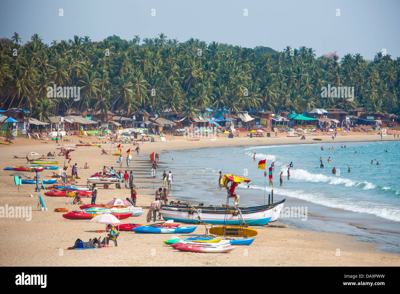 Goa Beach Colourful High Resolution Stock Photography And Images Alamy