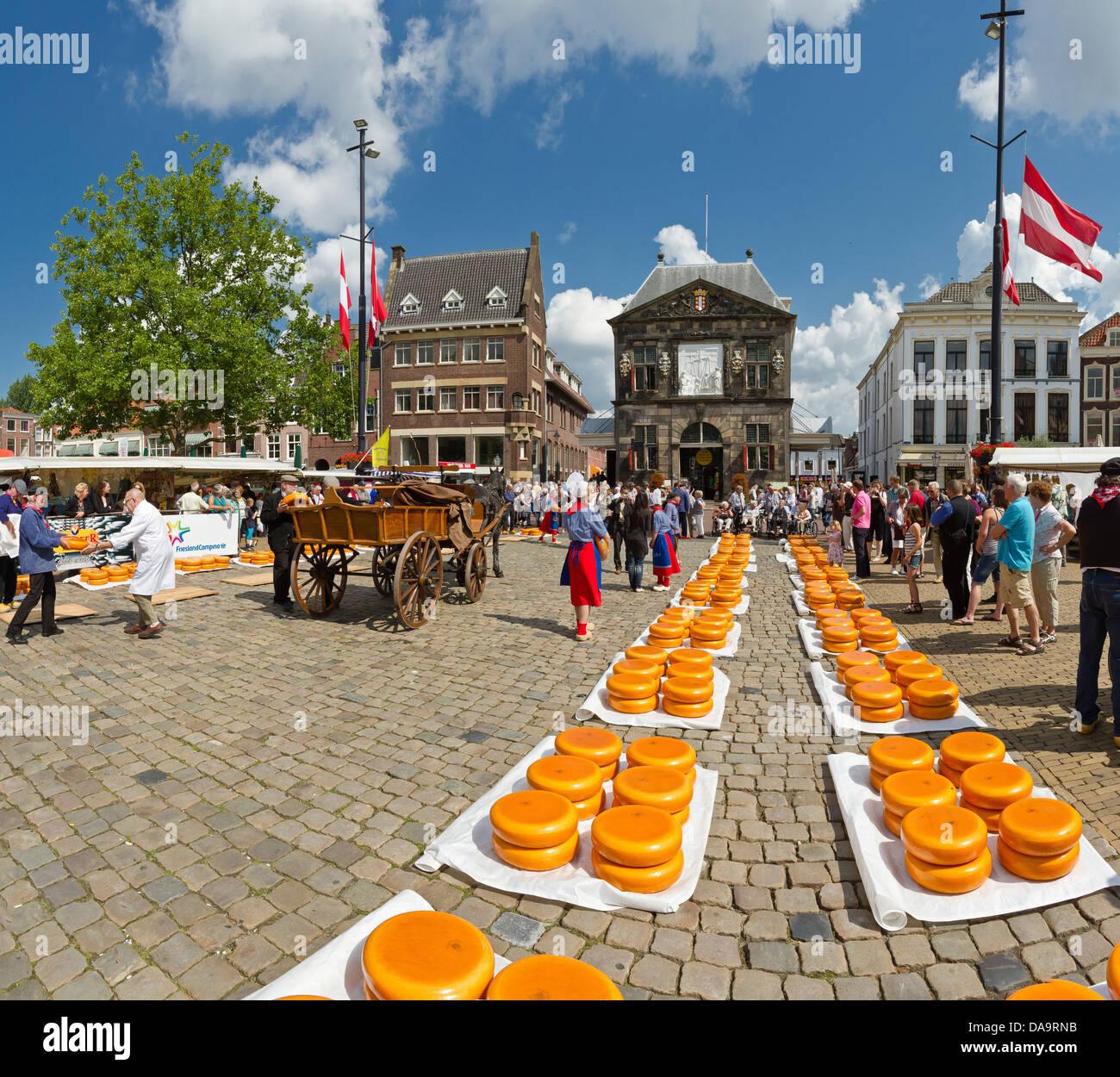 Netherlands Holland Europe Gouda Cheese Tradition Market City Village St Nicholas Day