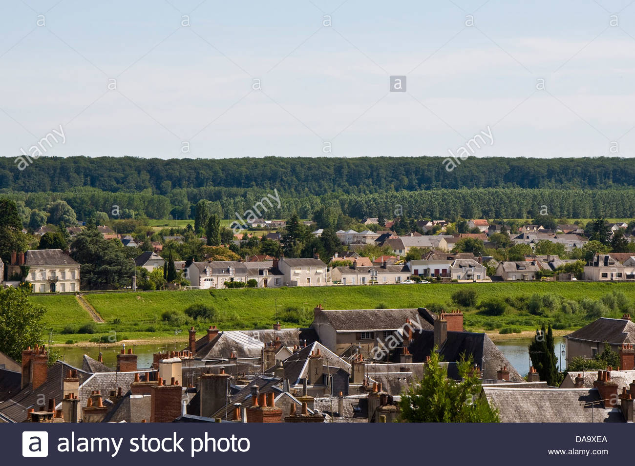 blois,loire valley,france - Stock Image