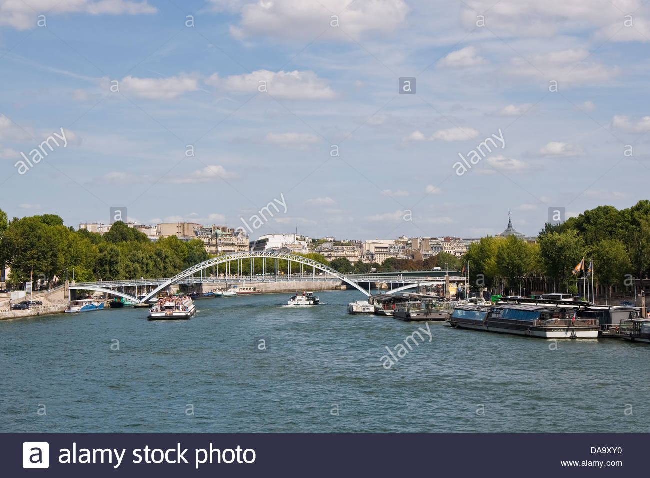 France,Ile de France,Paris,Seine - Stock Image