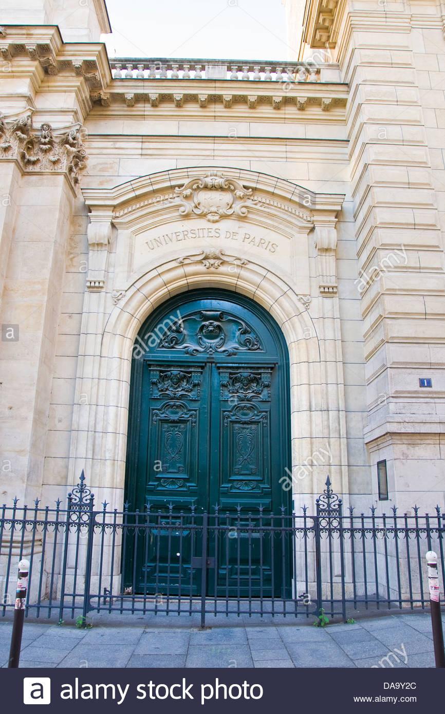 France,Ile de France,Paris,Sorbonne university - Stock Image