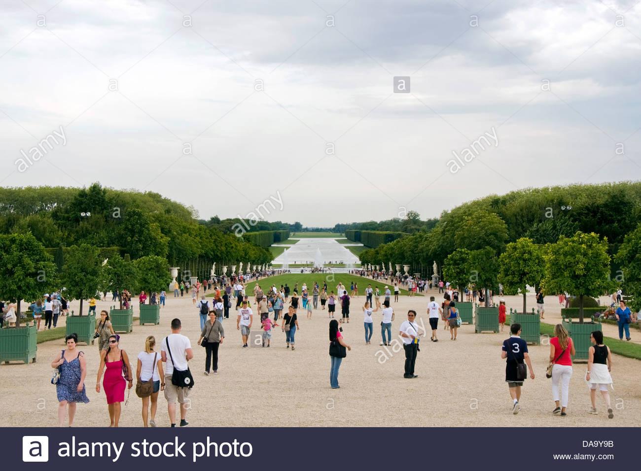 versailles palace,ile de france,france Stock Photo