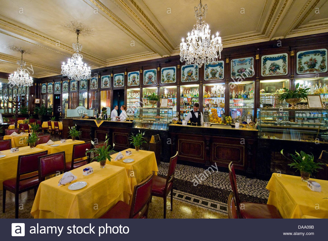 bar baratti & milano,turin,italy - Stock Image
