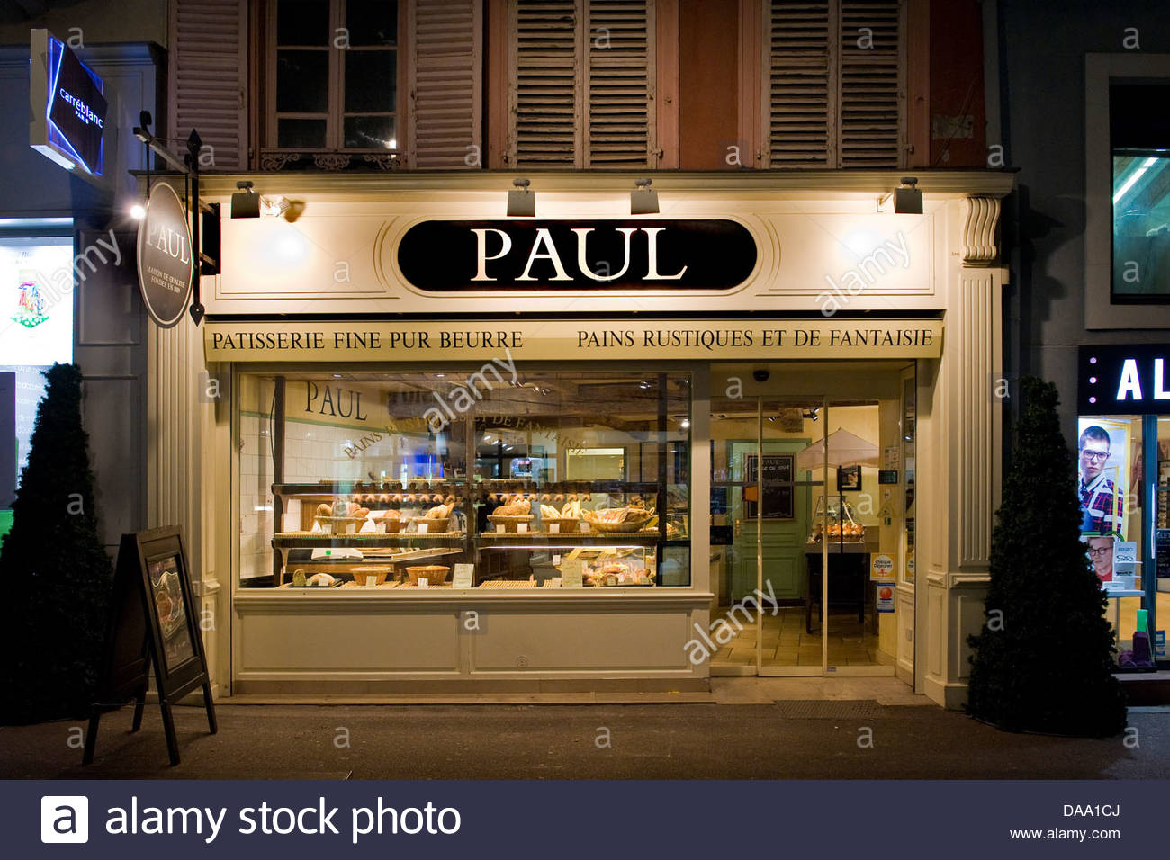 France,Alsace,Colmar,Paul confectionery - Stock Image
