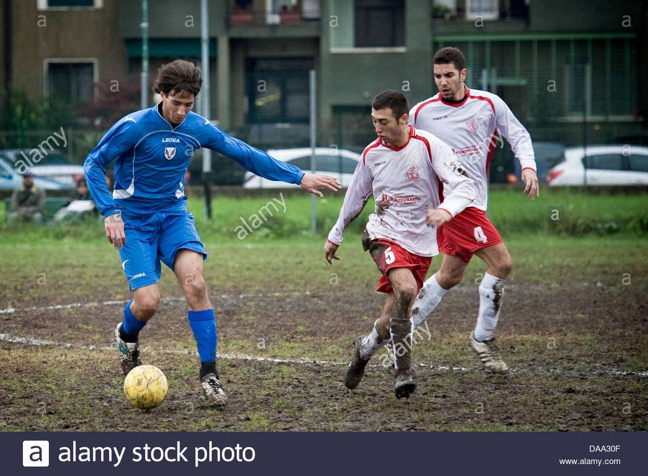 soccer match - Stock Image
