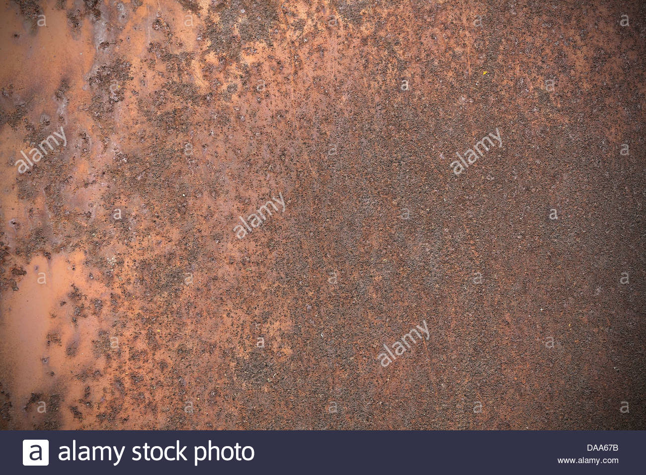 Rust Color Metal Texture Or Background