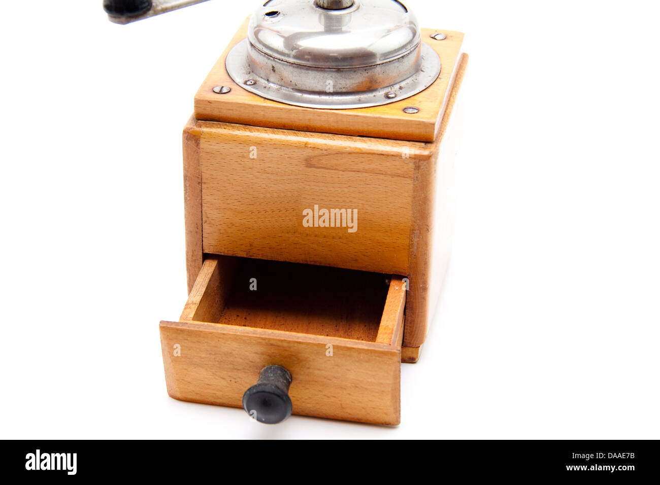 Old coffee mill - Stock Image