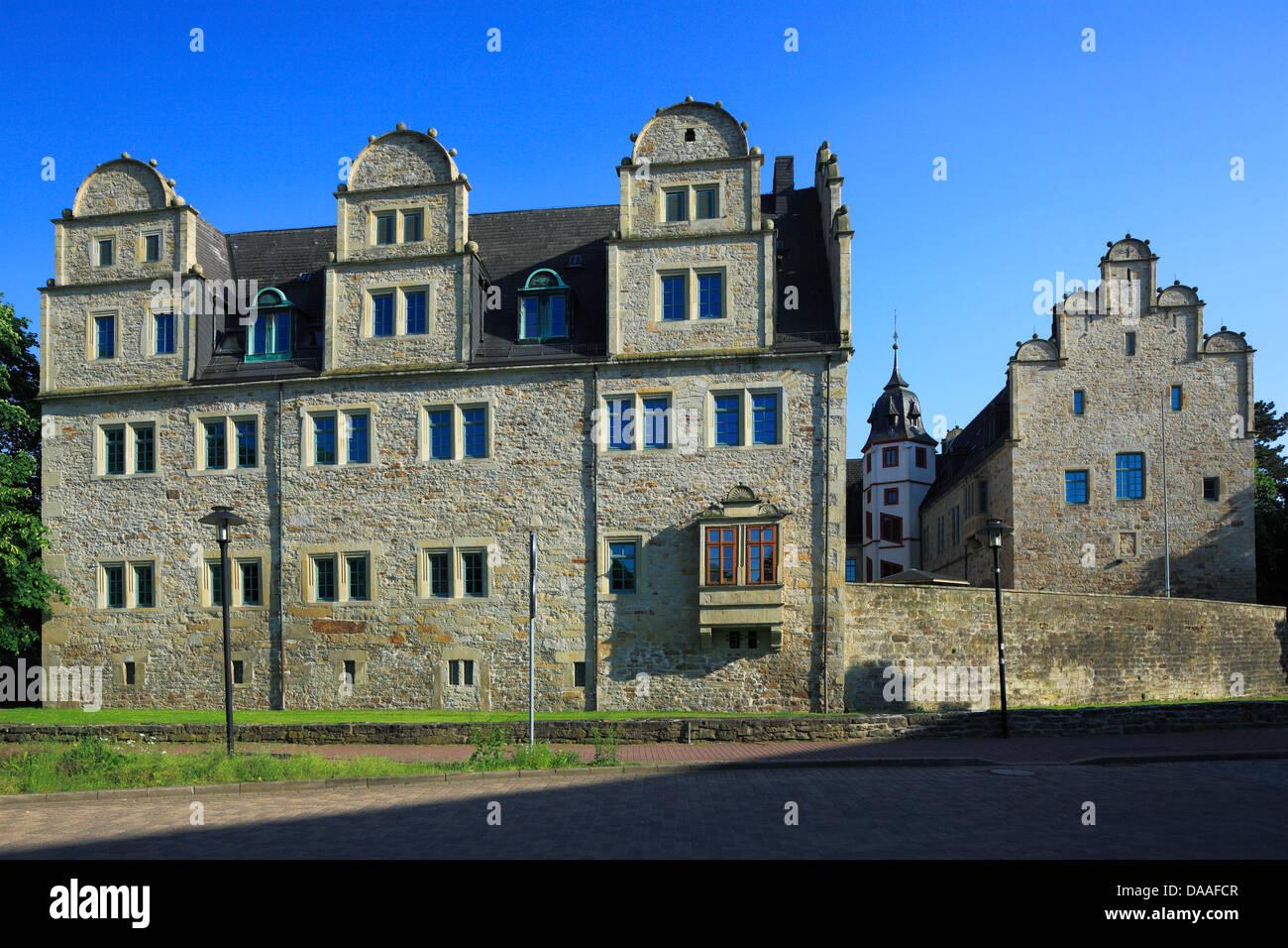 Residenzschloss in Stadthagen, Weserbergland, Niedersachsen Stock Photo