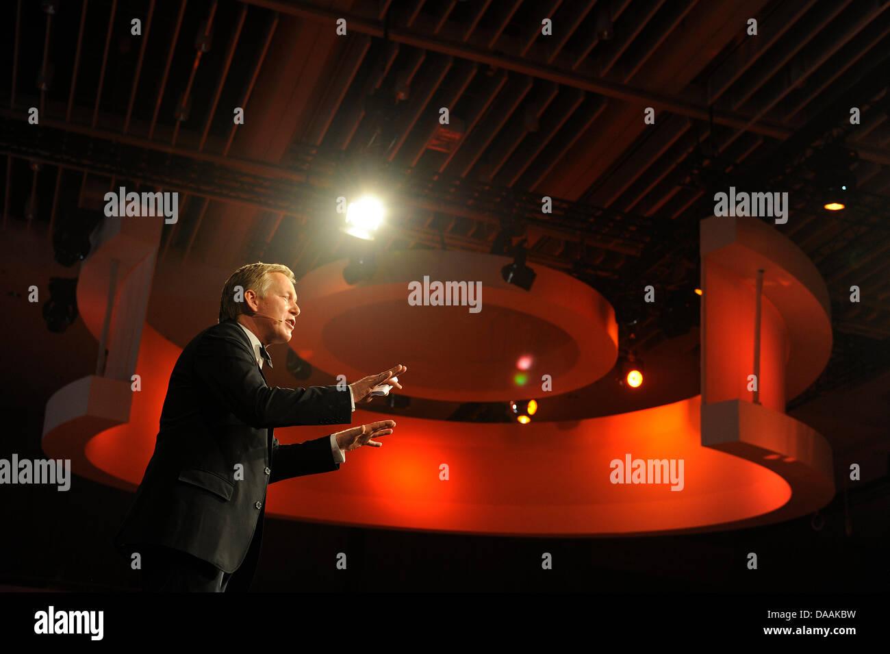 Johannes B. Kerner moderiert am Samstag (05.02.2011) den 41. 'Ball des Sports' in Wiesbaden. Unter dem Motto - Stock Image