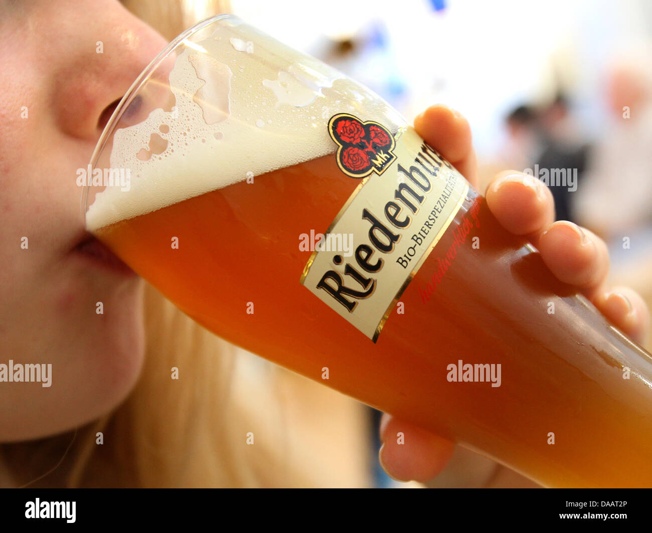 Bavarian organic wheat beer is one trend during the Green