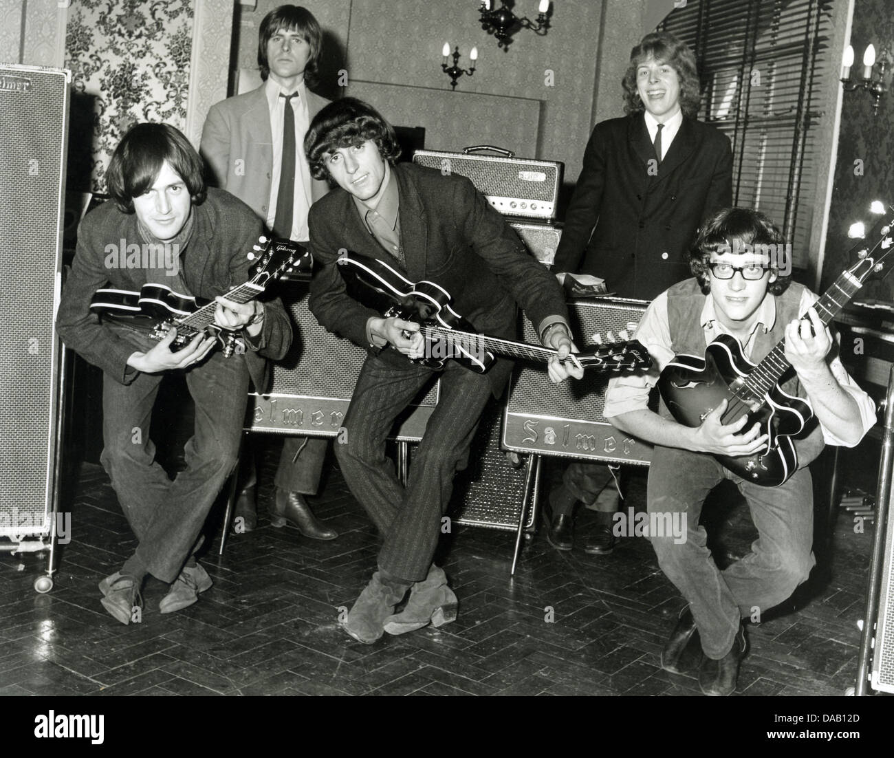 THE FAIRIES UK pop group in September 1964. Photo Tony Gale - Stock Image