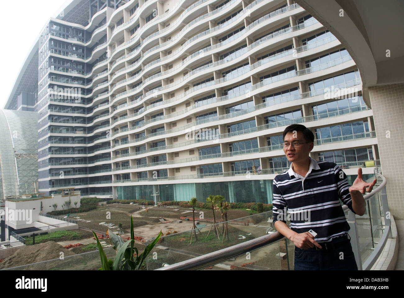 New Century Global Centre in Chengdu, Sichuan province, China. 06-May-2013 - Stock Image