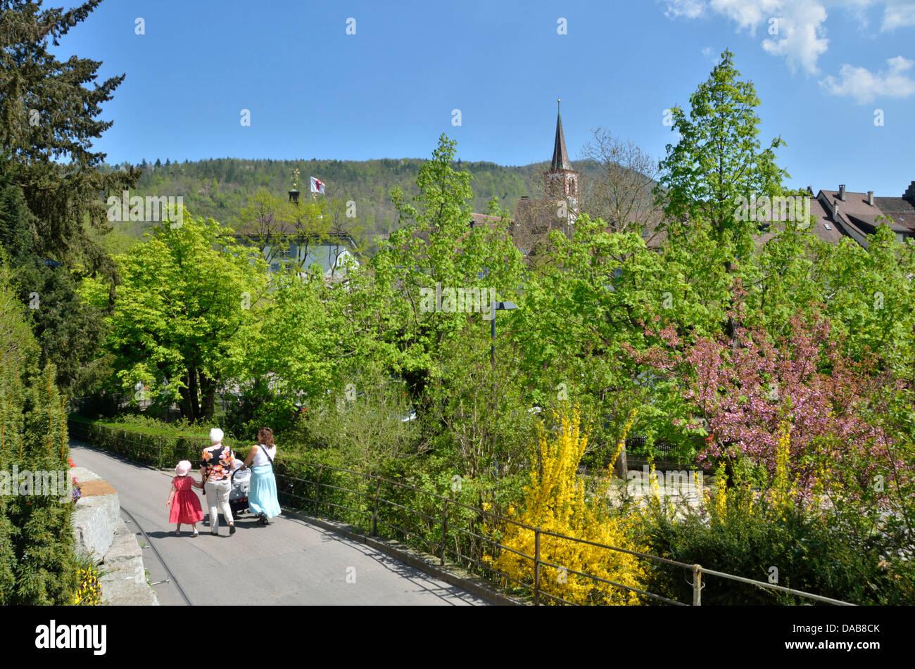 Liestal, Basel-Landschaft, Switzerland. - Stock Image