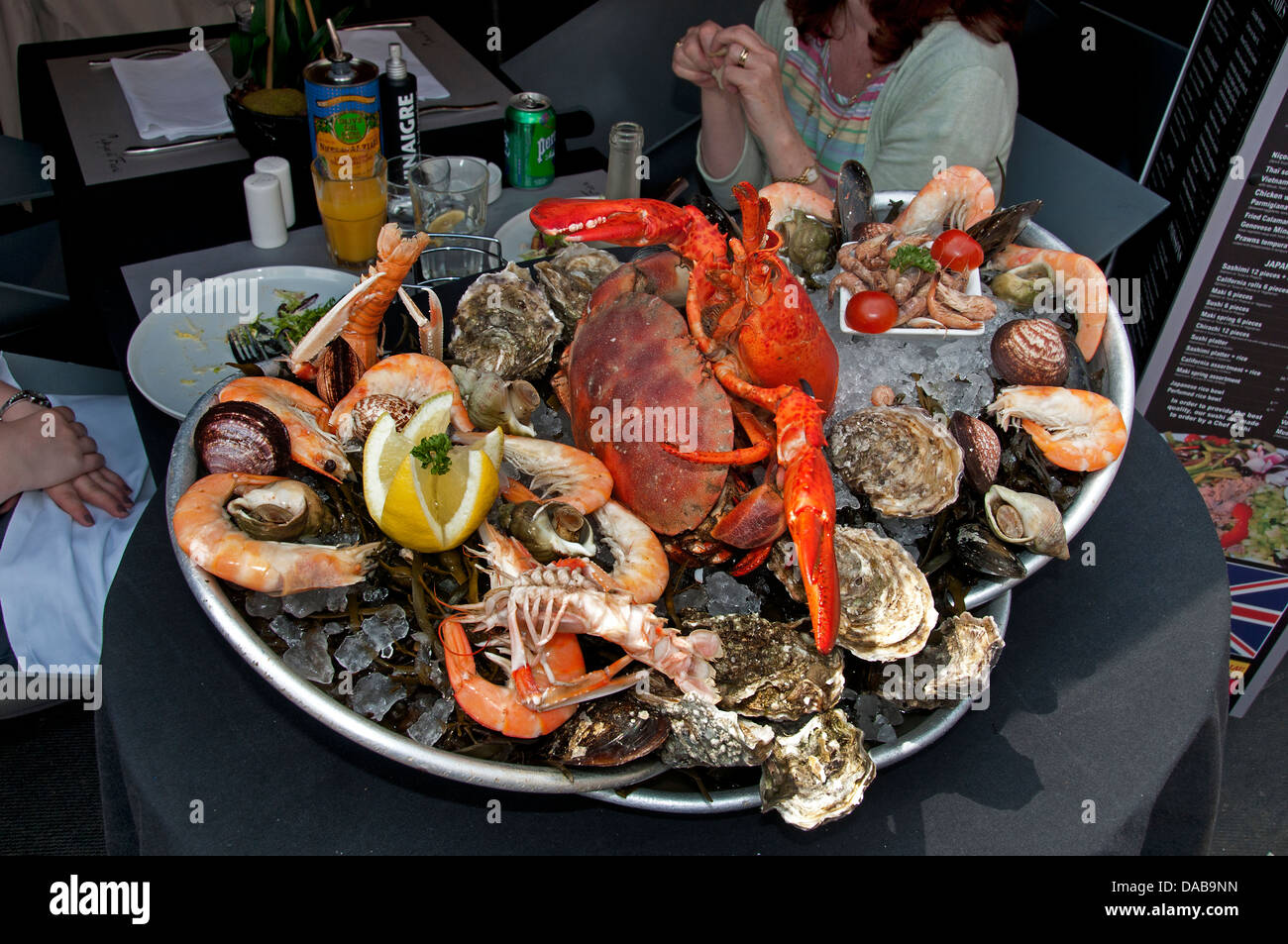 Lobster And Scallops Stock Photos & Lobster And Scallops Stock Images - Alamy