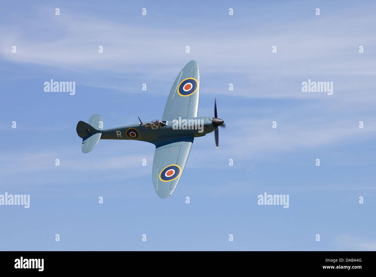 A 1942 Supermarine Spitfire, England - Stock Image