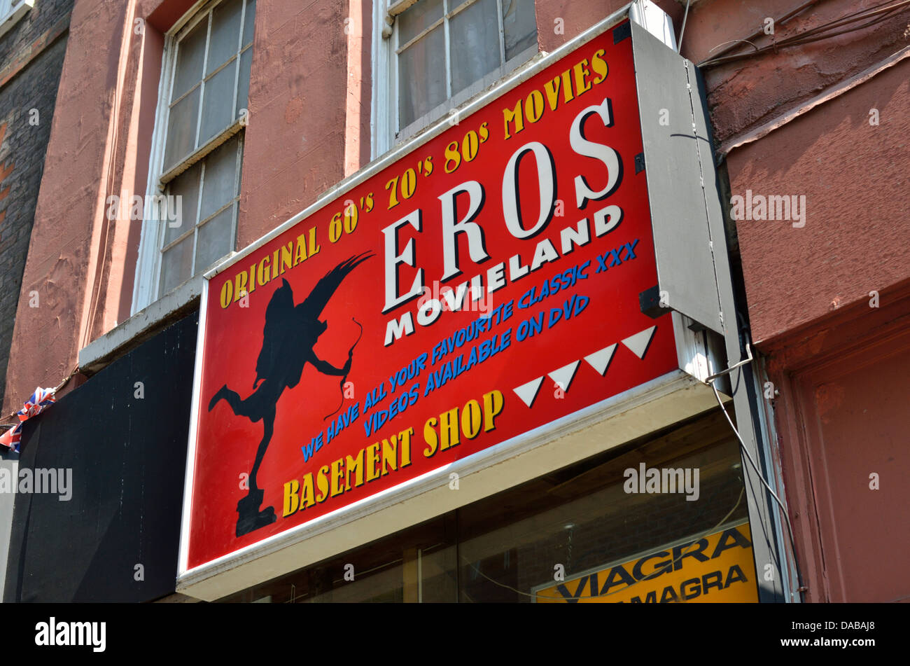 Eros Movieland adult porn video and magazine shop in Peter Street ...