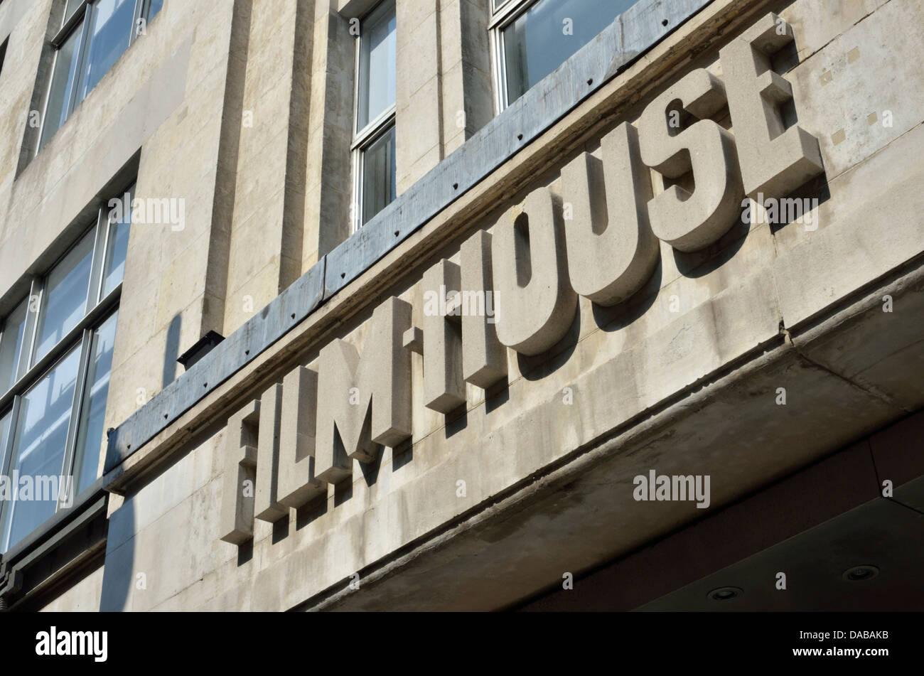 Film House in Wardour Street, Soho, London, UK. - Stock Image