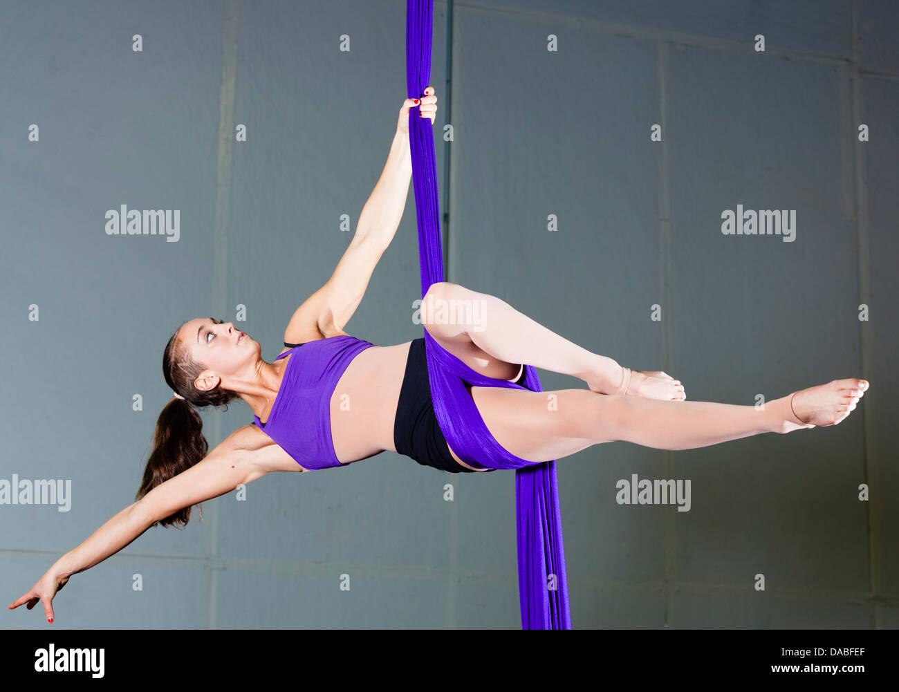 Gymnast - Stock Image