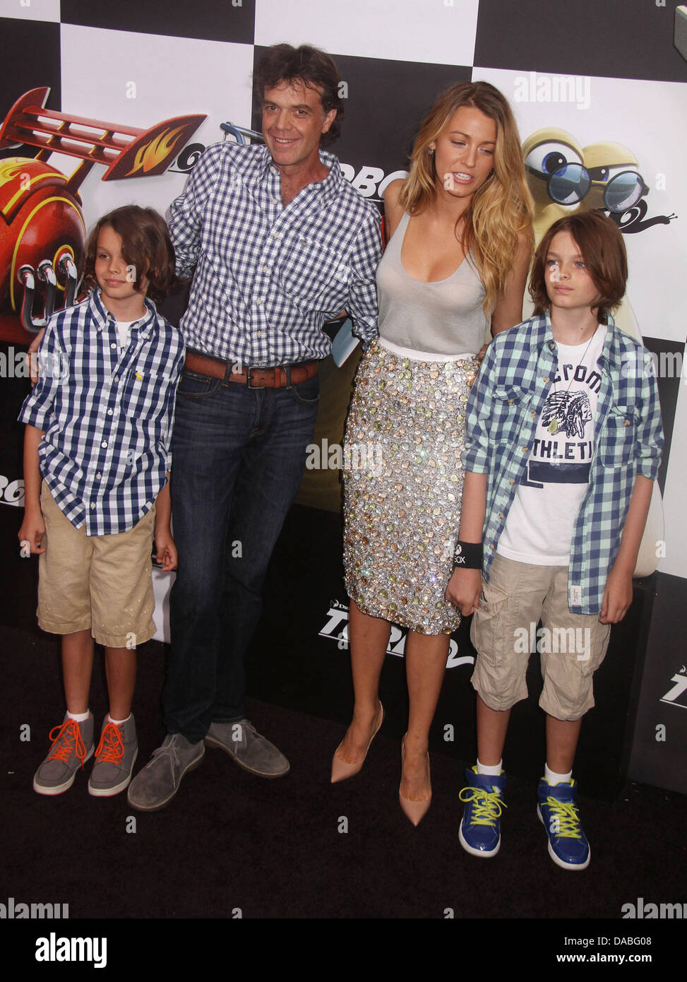 Jason Lively family