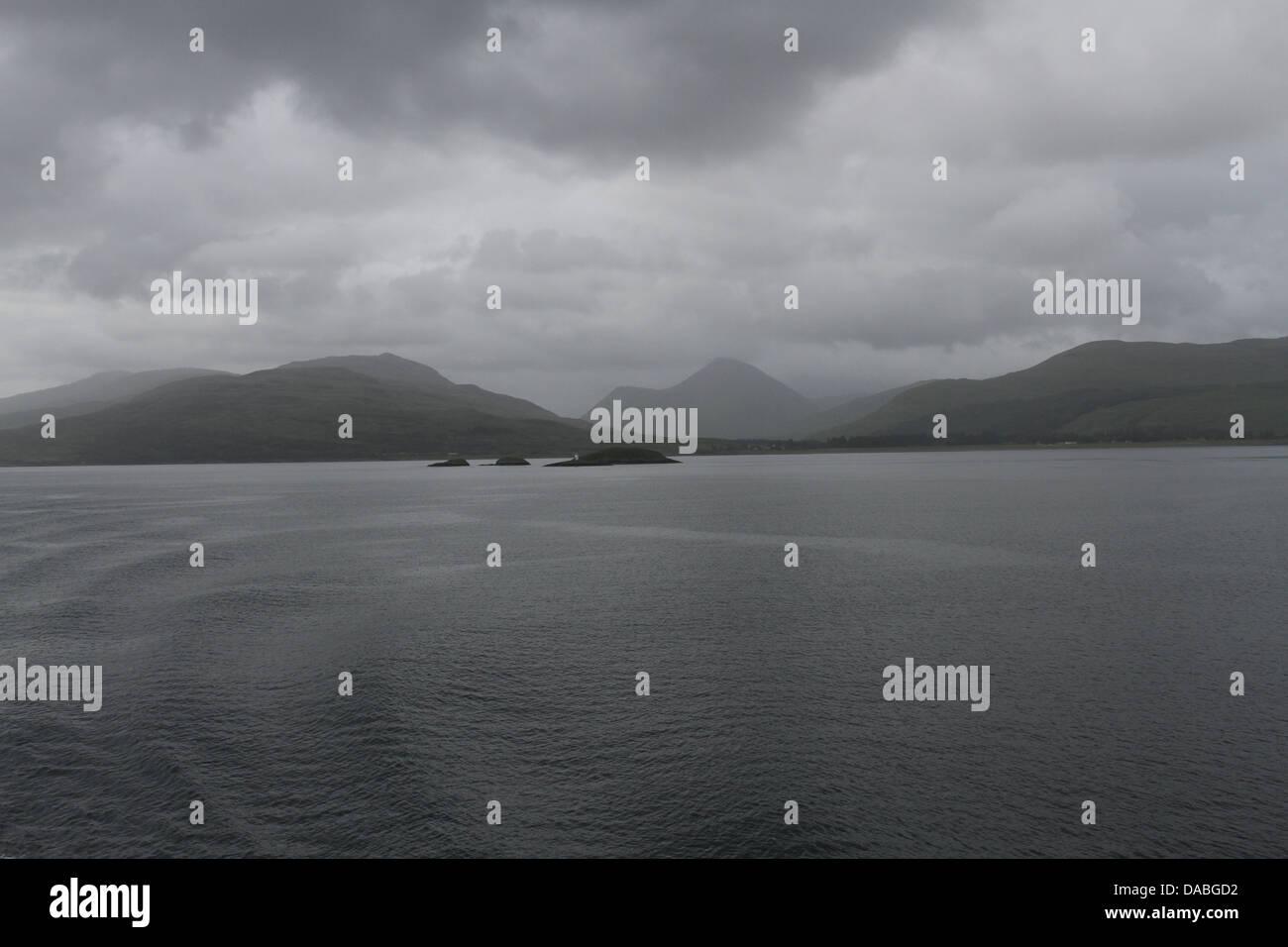 Ben More Isle of Mull Scotland  June 2013 - Stock Image