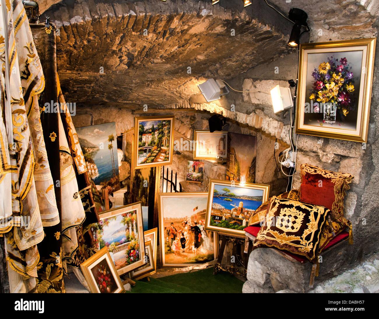 Saint Paul De Vence Art saint paul de vence france cote d'azur art gallery stock
