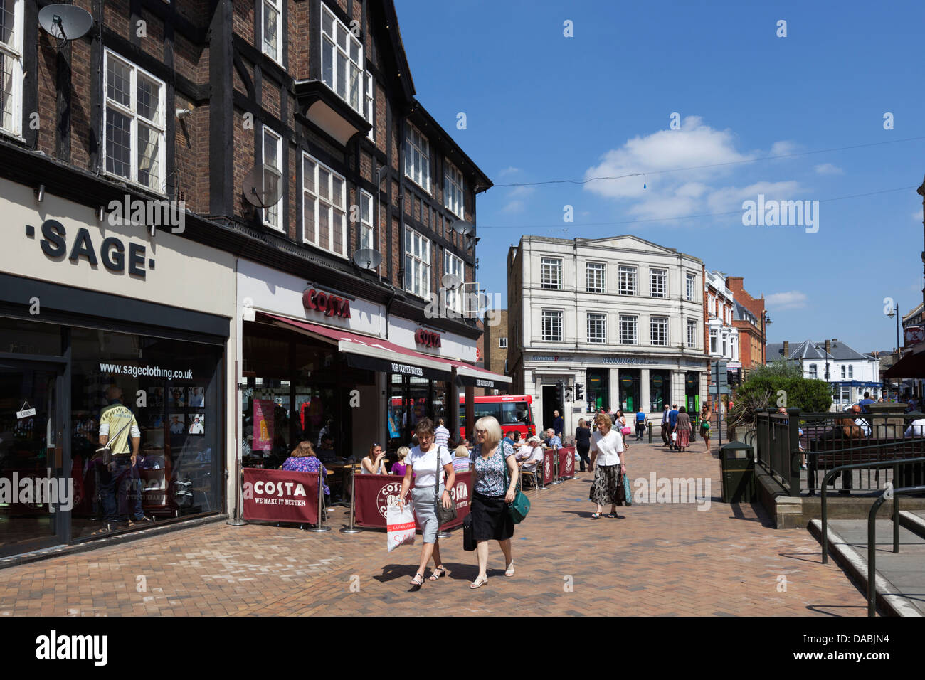 Bromley Market Square - Stock Image