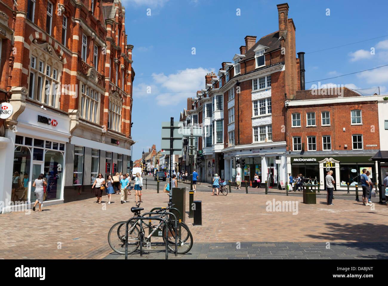 Bromley High Street - Stock Image