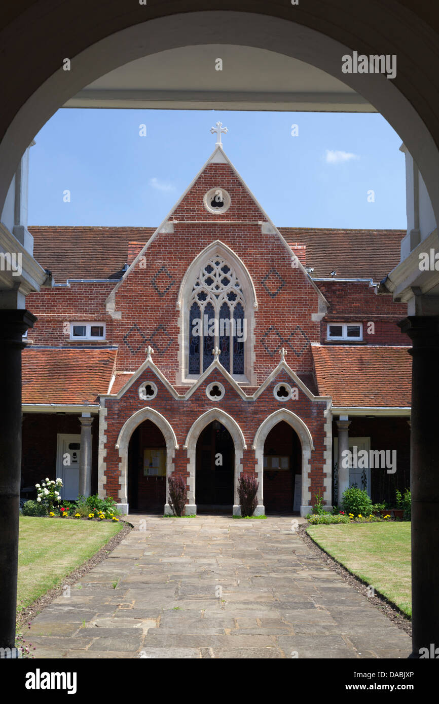 Bromley and Sheppard's Colleges, home for retired clergy - Stock Image