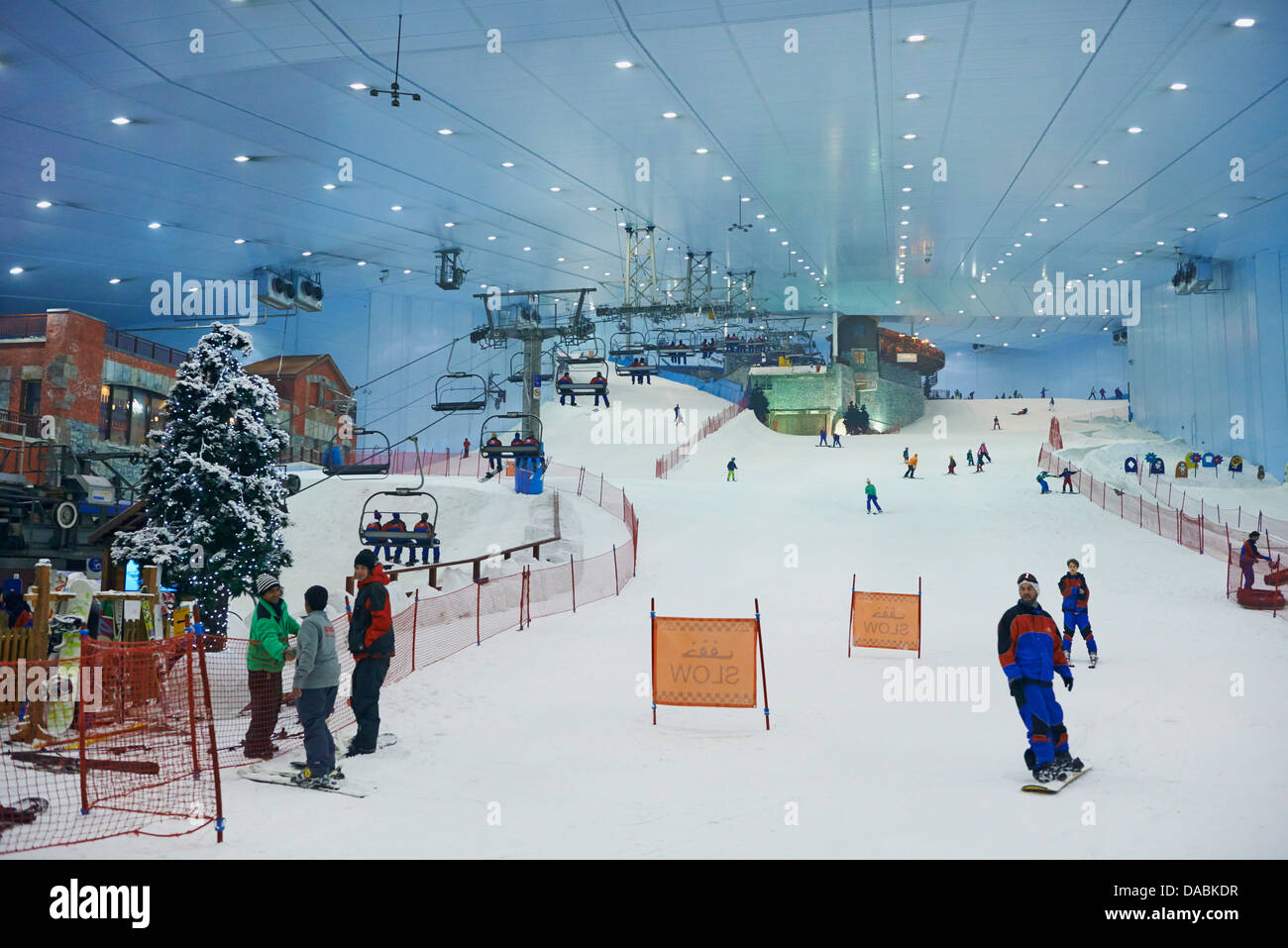 Ski Dubai Mall Of The Emirates Commercial Center United Arab