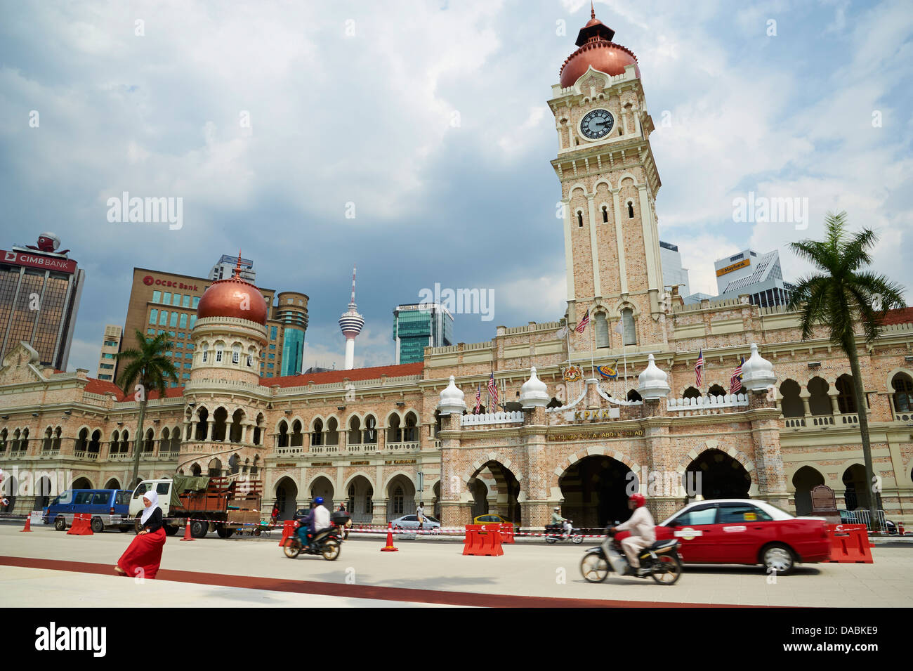 Sultan Abdul Samed Building, Kuala Lumpur, Malaysia, Southeast Asia, Asia - Stock Image