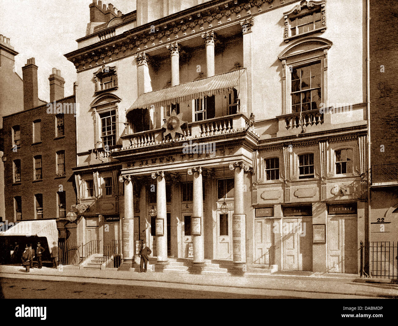 London St. James Theatre King Street early 1900s - Stock Image