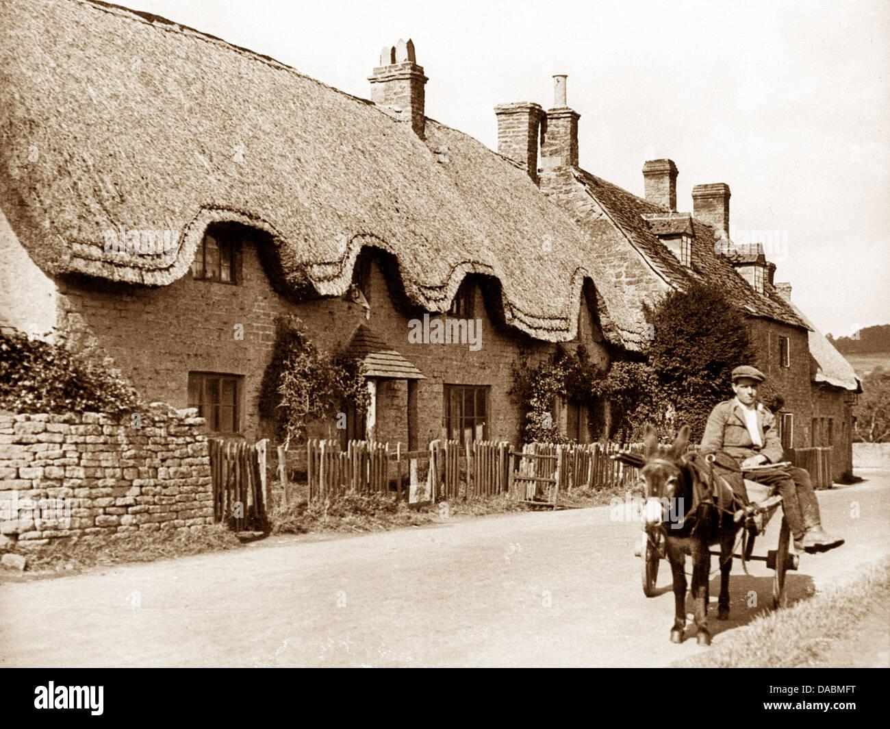 Long Compton early 1900s - Stock Image