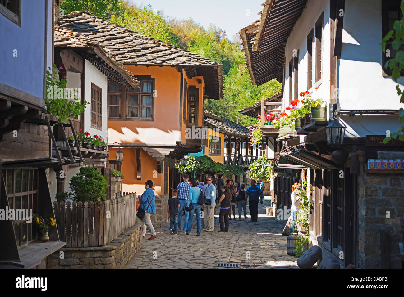 Etar Ethnographic Village Museum, Etar, Bulgaria, Europe - Stock Image