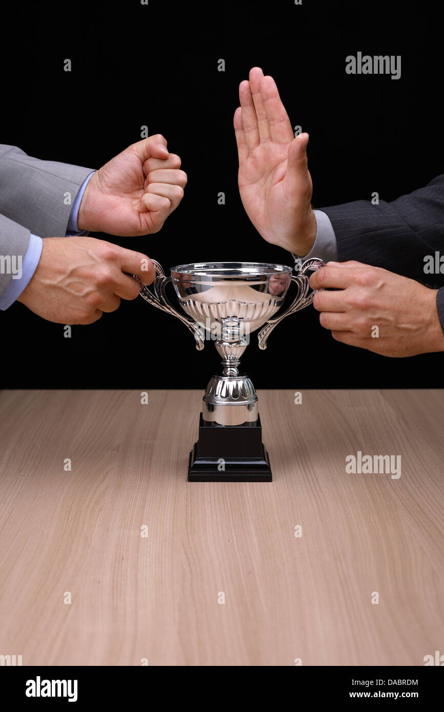 Business competition - Stock Image