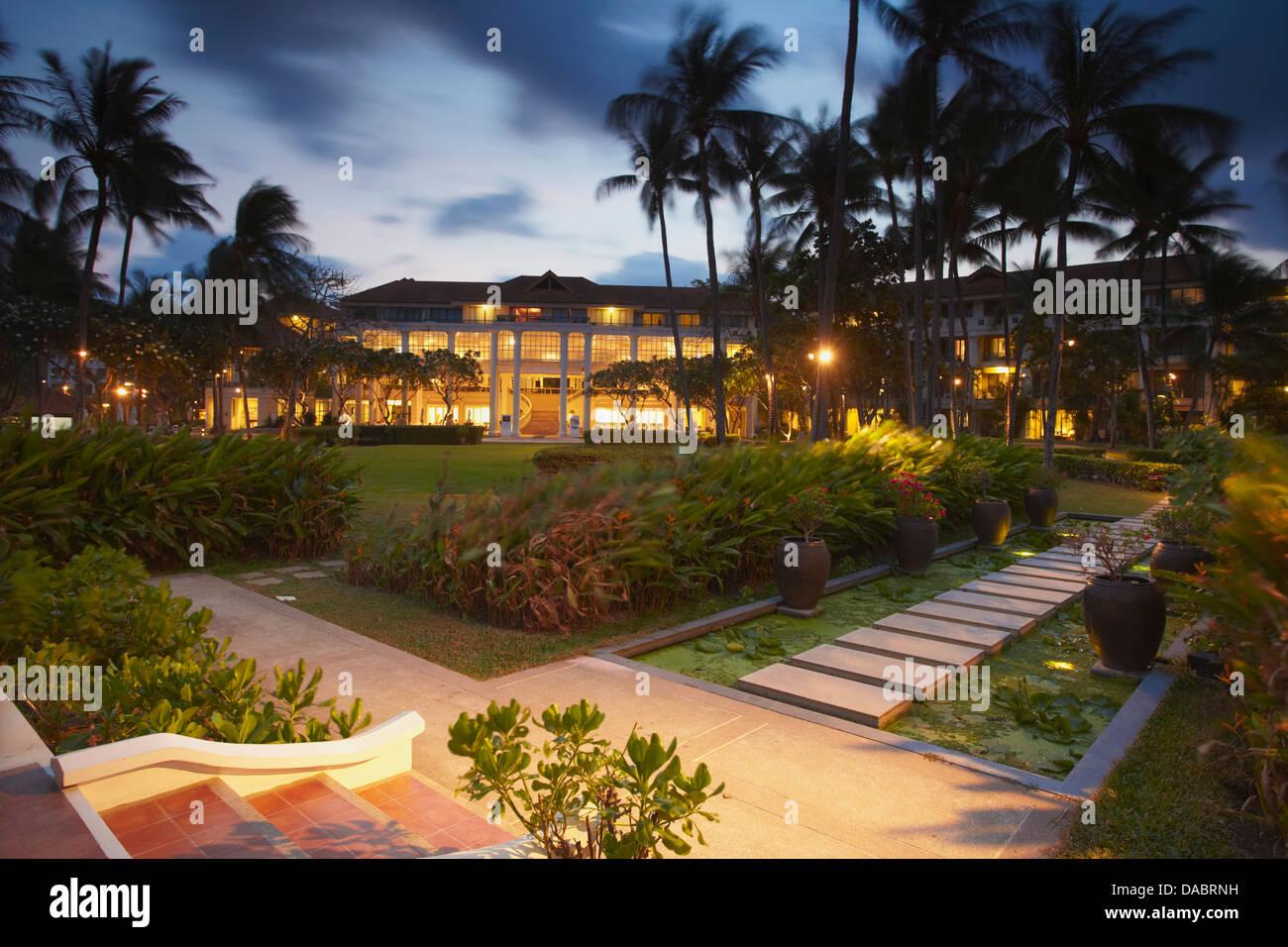 Centara Grand Beach Resort, Chaweng Beach, Ko Samui, Thailand, Southeast Asia, Asia - Stock Image