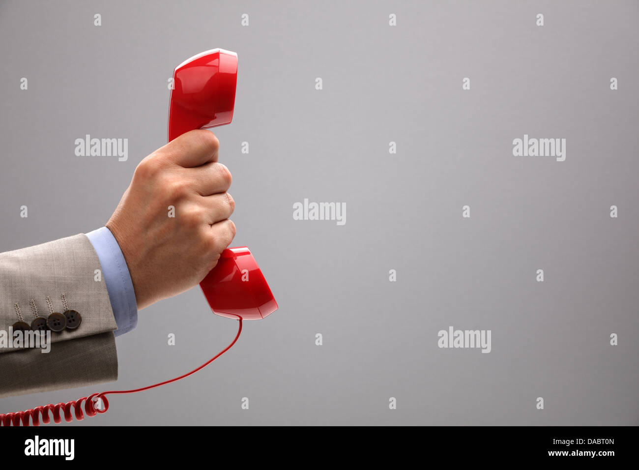 Important call - Stock Image