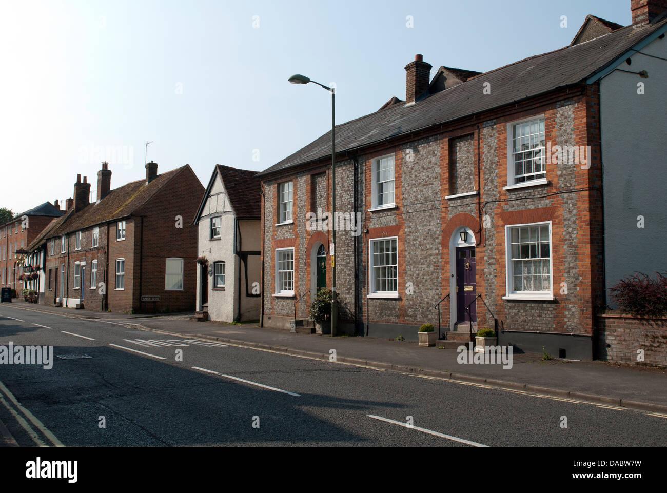 High Street, Thame, Oxfordshire, UK - Stock Image