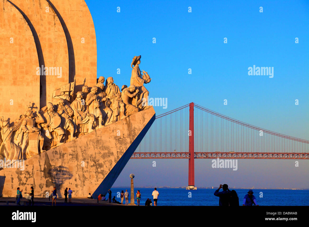 Monument to the Discoveries, Belem, Portugal, Iberian Peninsula, South West Europe - Stock Image