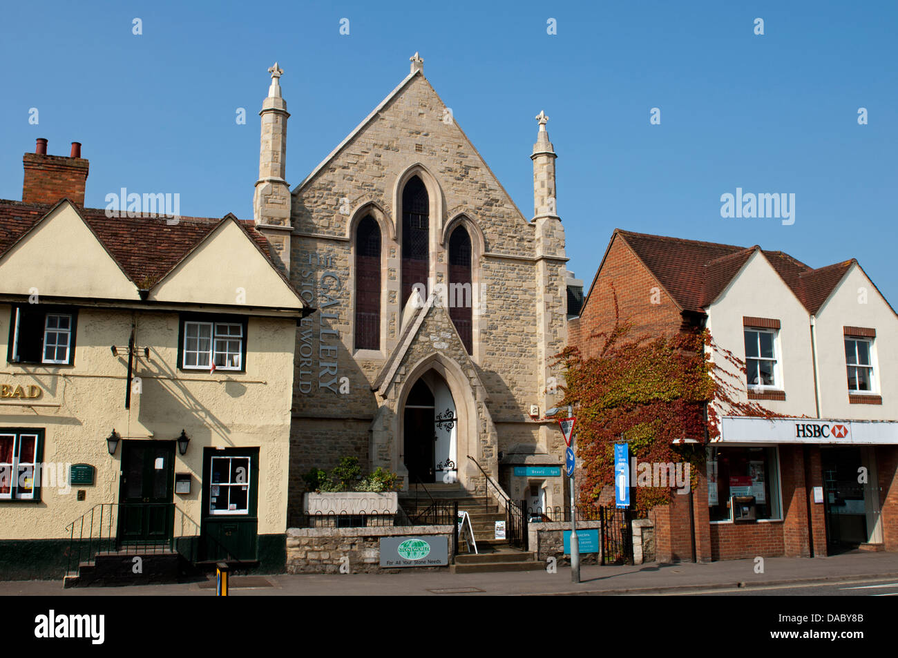 The Stoneworld Gallery, Thame, Oxfordshire, UK - Stock Image